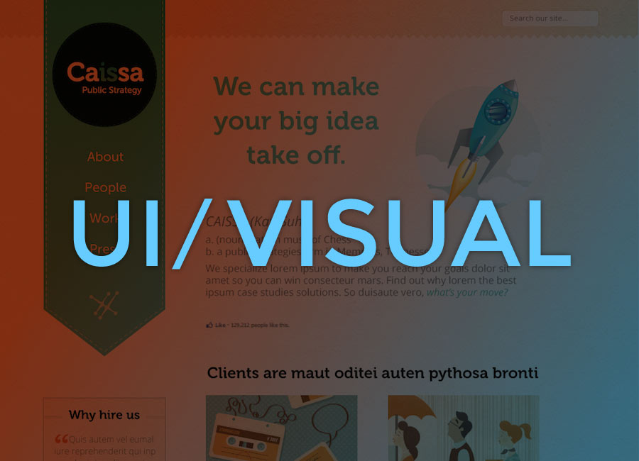 UI and Visual Design